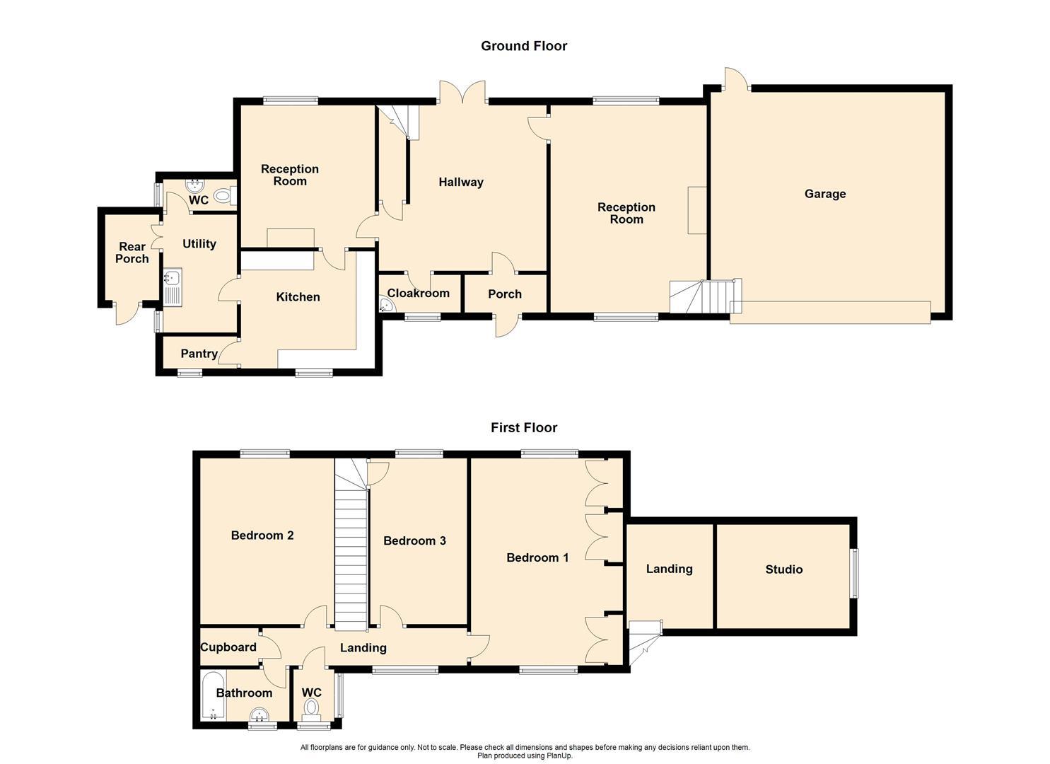 3 Bedroom Detached House For Sale - Greystones, 327 Wheatley Lane Road, Fence.jpg